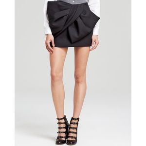 Marc by Marc Jacobs Black Bow Skirt